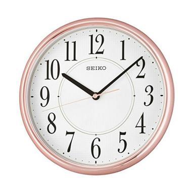 Seiko QXA671P Lumibrite Wall Clocks Jam Dinding - Pink [28 cm]