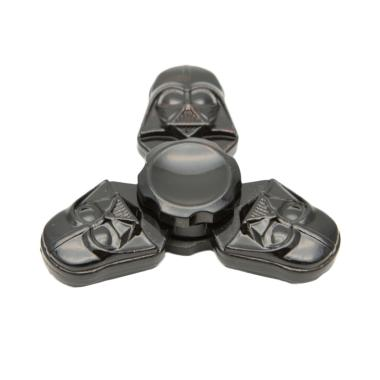 HAN Fidget Spinner Metal Star Wars Darth Vader Black - Hitam