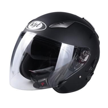 KYT Galaxy Slide Solid Helm Half Face