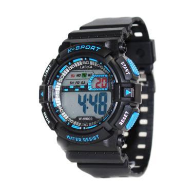 Lasika W-H9003 Jam Tangan Pria - Hitam