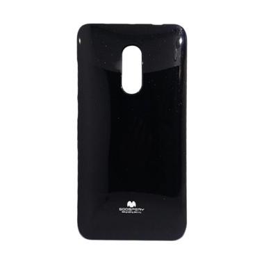online retailer 4e6ce daa70 Mercury Pearl Jelly Case Xiaomi Redmi Note 4 - Hitam