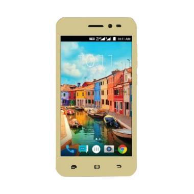 Smartfren Andromax A Smartphone - Gold [8 GB/1 GB/4G LTE]