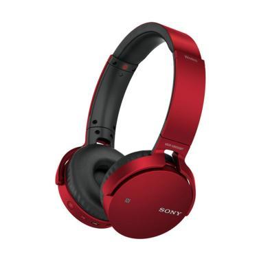 Sony MDR-XB650BT Extra Bass Bluetooth Headphone - Merah