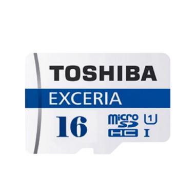 Toshiba Exceria M301 Micro SD Class 10 Memory Card [16 GB/48 Mbps]