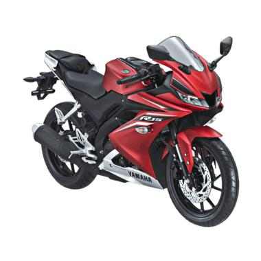 Yamaha All New R15 Matte Red Sepeda Motor [OTR Kalimantan]
