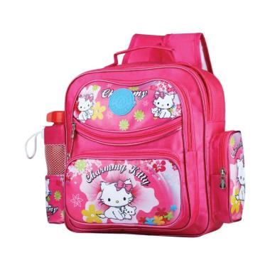 Azzurra 524-11 Bags for Kids Hello Kitty Tas Anak - Pink