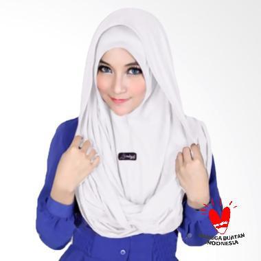 Hijabku Murah Sosor Twist Kerudung - Putih