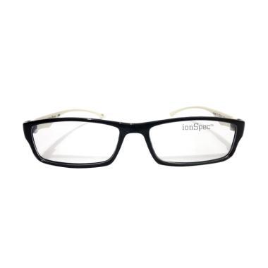 Ionspec Model 25 Kacamata Terapi Kesehatan - Hitam Putih