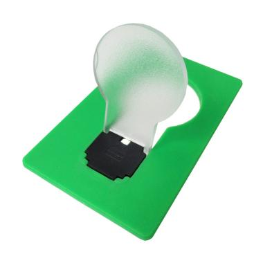 Ormano Teiton Card LED Lampu Emergency - Hijau