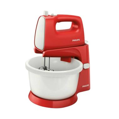 Philips HR 1559 Stand Mixer Merah