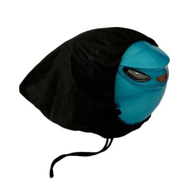 Sarung Helm / Dust Bag / Ugiene Sar ... Non Woven - Hitam [4 Pcs]