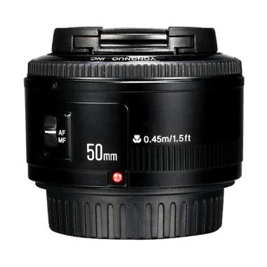 Yongnuo 50MM F1 8 AF MF Prime Fixed Lens for Canon DSLR