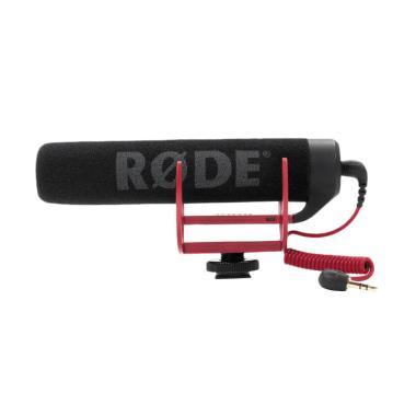 Rode VideoMic GO Original Lightweight On-Camera Microphone - Hitam