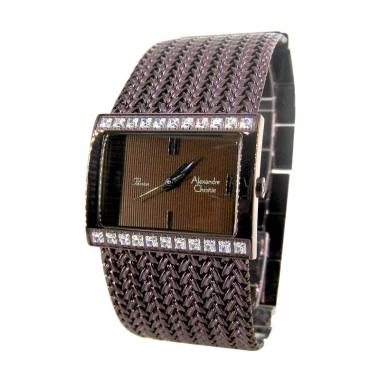 Alexandre Christie 2466 Ring Diamond Jam Tangan Wanita - Purple