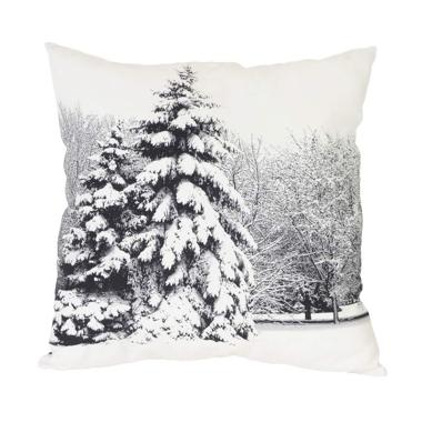 Curated Home CUSHION COVER - WHITE FOREST (45cm x 45cm)