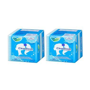 Laurier Cleanfresh Non-Perfume Pantyliner [2 X 20 Pcs]