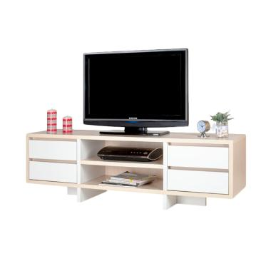 Ben Furniture Melamine Rak TV [150 x 40 x 40 cm/Wilayah Jabodetabek]