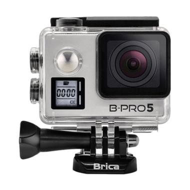 Brica B-Pro 5 Alpha Edition Mark IIs AE2S Action Camera - Silver