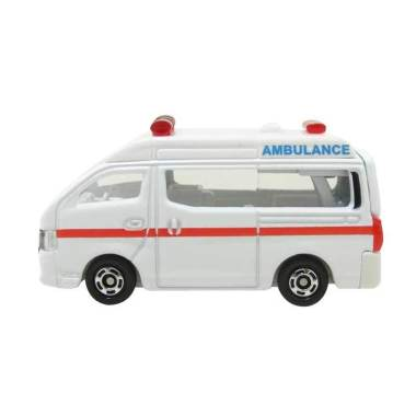 Takara Tomy Tomica Nissan NV350 Caravan Ambulance Diecast [1:69]