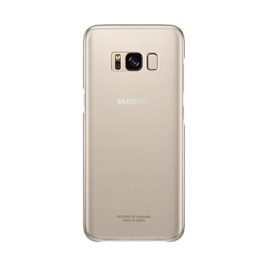 Samsung Clear Cover Casing for Galaxy S8 Plus - Gold