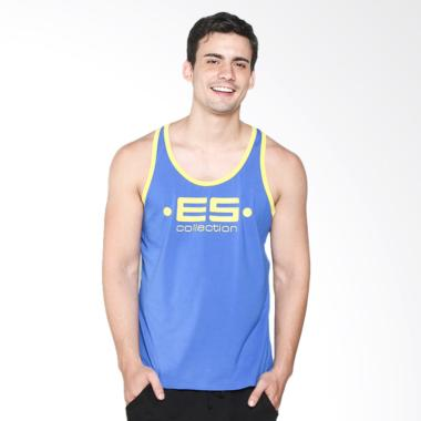 Boostwear Muscle Back Tank Top Pria - Biru Royal