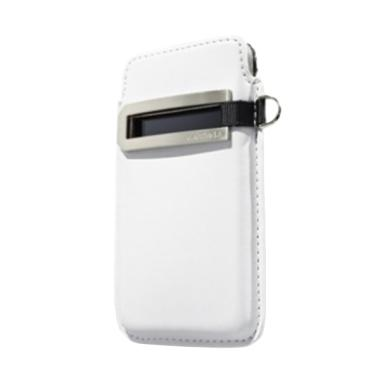 Capdase Smart Pocket Callid Casing for Apple iPhone 4S - White