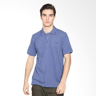 Carvil Men 12.MST.BLU.G1/ MISTY-BLU Polo Shirt Pria - Blue