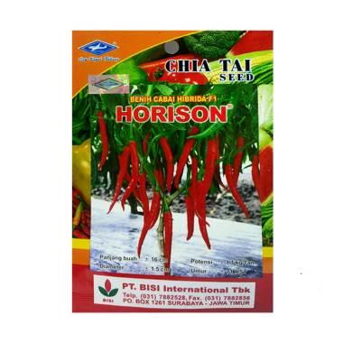 Chia Tai Seed Cabe Merah Besar Hibrida Horison Tanaman [0.5 g]