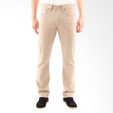 Levi's 501 True Chino Original Fit Rinse Pria 00501-1464