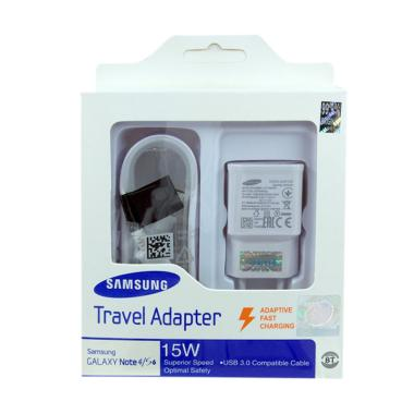 Charger Samsung Fast Charging 100%Original - White