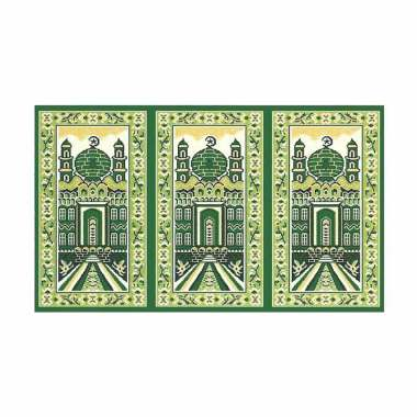Vision Medeena Masjid 21001 Roll Karpet Sajadah - Hijau [105 x 570 cm]