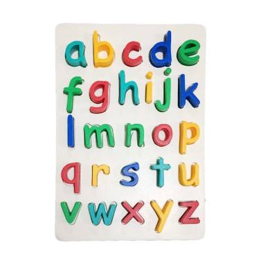 Indigo Kid Toys Huruf Kecil Mainan Puzzle