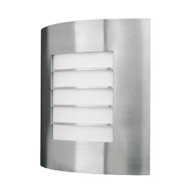 Philips EWS300 Wall Lantern Inox Lampu Taman [60 W/240 V]