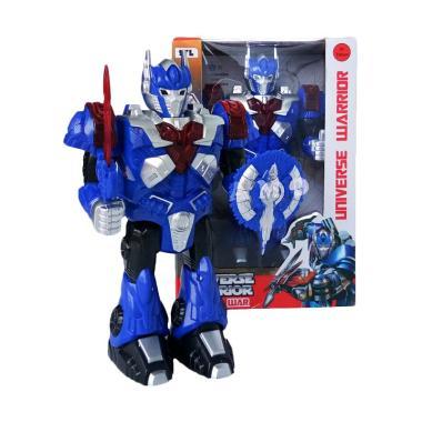 Universal Robot Warrior Optimus Mainan Anak
