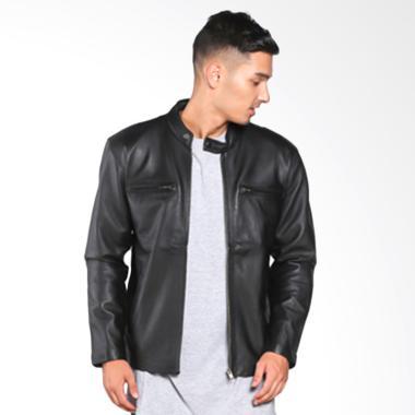 Kalong Jaket Kulit JKD 022 Mens Lamb Skin Birmingham Jacket