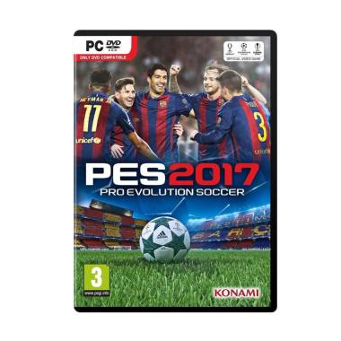 Microsoft PES 2017 - Pro Evolution Soccer 2017 PC DVD ROM