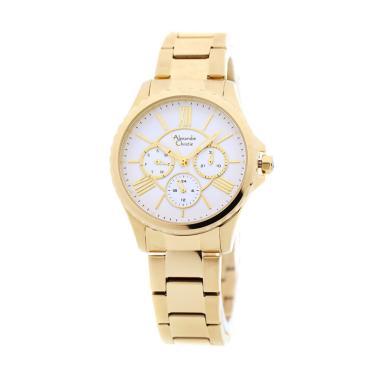 Alexandre Christie 2505 Jam Tangan Wanita - Gold