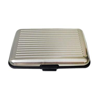 Orange's Metal Case Dompet Kartu - Silver