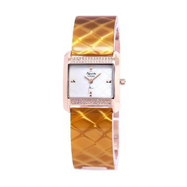 Alexandre Christie 2624 Jam Tangan Wanita - Gold