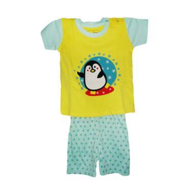 Disney PocoPico Organic Penguin Setelan Pakaian Bayi