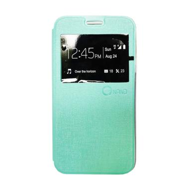 Nano Flip Cover Casing for Samsung Galaxy Tab 3V T116 - Tosca