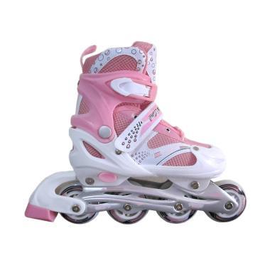 Power Superb Inline Skate Sepatu Roda - Pink
