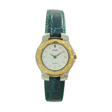 Alba ATA50J Jam Tangan Wanita - Green Silver Gold