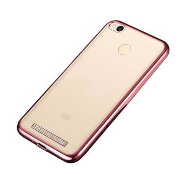 OEM Case Shining Chrome Softcase Ca … aomi Redmi 3X – Rose Gold