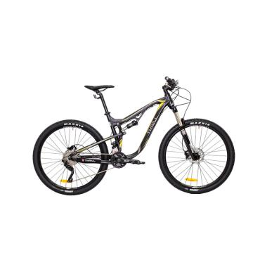 Thrill Ricochet 1.0 Sepeda Mountain Bike - Matte Black [27.5x16AF]