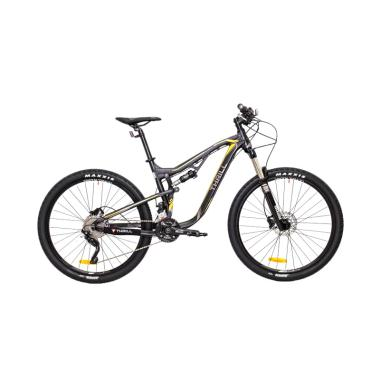Thrill Ricochet 1.0 Sepeda Mountain Bike - Matte Black [27.5x17AF]