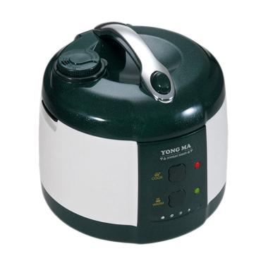 Yong Ma YMC 205 Teflon Gold Iron Wing Rice Cooker - Putih