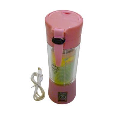 Gogo Model Portable USB Rechargeable Juicer Blender - Pink