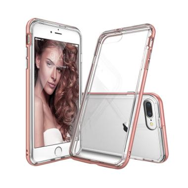 Rearth Ringke Frame Casing for iPhone 7 & 8 Plus - Rose Gold