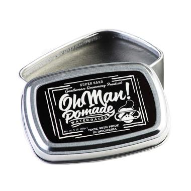 BELI..!!! Oh Man!3Oz Mystic Waterbased Pomade – Grey Transparent